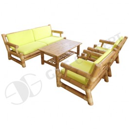 BSF902-Bamboo Sofa-Luxury Style Bamboo Sofa