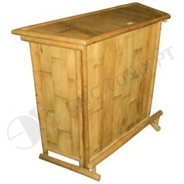 BTB114-BambooTiki Bar-Mini Bamboo Bar Counter