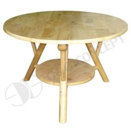 BTL302-Bamboo Furniture-Natural Bamboo Small Round CoffeeTable
