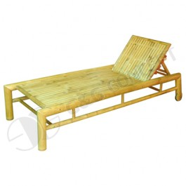 BLG605-Bamboo Furniture-Bamboo Beach Lounger