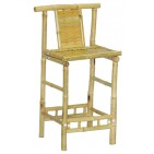BCH418-Bamboo Furniture-Classic Bamboo Stool