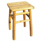 BCH426-Bamboo Furniture-Bamboo Square Stool