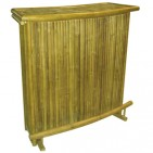 BTB110-Bamboo Tiki Bar- Bamboo Bar Counter