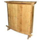 BTB111-BambooTiki Bar-Real Bamboo Bar Counter