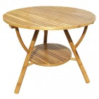 BTL303-Bamboo Furniture-Model Bamboo Round Coffee Table