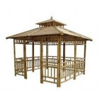 GB208-Bamboo Gazebo-Natural Bamboo House