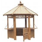 GB209-Bamboo Gazebo-Bamboo Hut