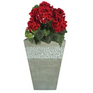 CM001 - Vietnam Outdooor Planters - LIGHT CEMENT PLANTERS