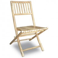 BCH405-Bamboo Furniture-Outdoor Bamboo Folding Chair