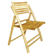 BCH410-Bamboo Furniture-Indoor Bamboo  Folding Chair