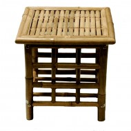 BF-13004 - Outdoor Garden Furniture - Bamboo End Table