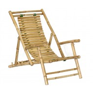 BF-13008 - Outdoor living furniture - Bamboo folding chair recliner