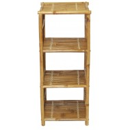 BF-13021 - Bamboo shelves and storage - Bamboo Shelf End Table