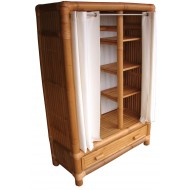 BF-13024 - Bamboo shelves and storage - Bamboo wardrobe