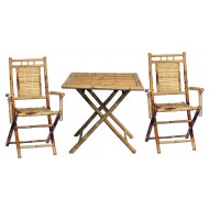 BFS-13012 - Wholesale bamboo furniture - Bamboo Dining Table Set