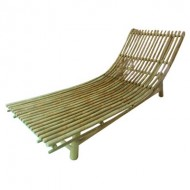 BLG601-Bamboo Furniture-Real Bamboo Pool Lounger
