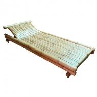 BLG602-Bamboo Furniture-Bamboo Sauna Lounger