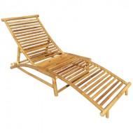 BLG610-Bamboo Furniture-Bamboo Sun Lounger