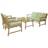 BSF906-Bamboo Sofa-Outdoor Bamboo Sofa