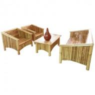 BSF908-Bamboo Sofa-Antique Bamboo Sofa