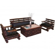 BSF922-Bamboo Sofa-Luxury Bamboo Sofa