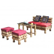 BSF923-Bamboo Sofa-Bamboo Mini Sofa