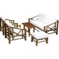 BSF926-Bamboo Sofa-Simple Design Bamboo Sofa