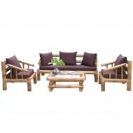 BSF927-Bamboo Sofa-Asia Style Bamboo Sofa