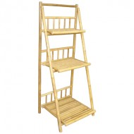 BSH702-Bamboo Furniture-Tiers Natural Bamboo Shelf