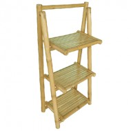 BSH704-Bamboo Furniture-Whole Bamboo Shelf