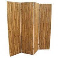 BSR506-Bamboo Furniture-Real Bamboo Folding Screen