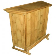 BTB114-BambooTiki Bar-Mini Bamboo Bar Counter