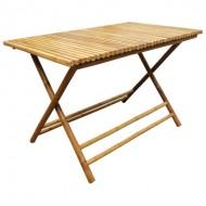 BTL316-Bamboo Furniture-Baboo Rectangular Folding Coffee Table