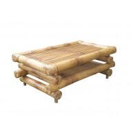 BTL325-Bamboo Furniture- Antique Bamboo Sofa Table