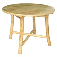 BTL301-Bamboo Furniture-Real Bamboo Round CoffeeTable