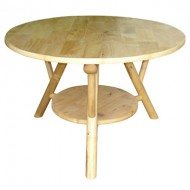 BTL302-Bamboo Furniture-Natural Bamboo Small Round CoffeeTable
