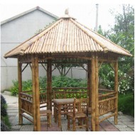 GB211-Bamboo Gazebo-Bamboo Gazebo and Pavilion