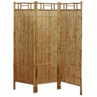 BSR509-Bamboo Furniture-Natural Bamboo Folding Screen