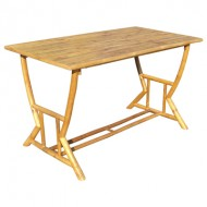 BTL309-Bamboo Furniture-Model Outdoor Bamboo Rectangular Dining Table