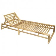 BLG604-Bamboo Furniture-Bamboo Beach Lounger for Sunbathing