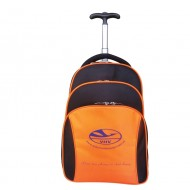GB-13016-Luggage laptop backpack with pulling handle and rolling wheels for travellers and college students