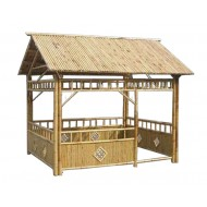 GB206-Bamboo Gazebo-Natural Garden Bamboo House