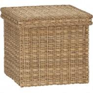 RLB13016 - Wholesale Laundry Basket - Square Lidded Basket