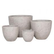 CP-200-S4_Round Cement Pot S/4 - Plain_ G&G Concept