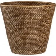 RLB13005 - Rattan laudry basket - Tapered Wastebasket