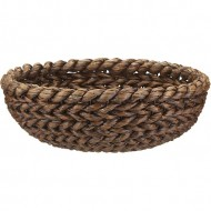 RLB13018 - Wholesale Wicker Storage - Small Water Hyacinth Woven Bowl