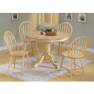 WF13004-Wooden Furniture - Round Dining Set