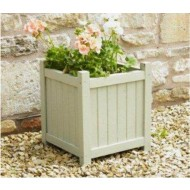WP2-13003 - Garden Planter - GG White Square Planter