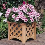 WP2-13005 - Garden Planter - GG Square Wooden Planter