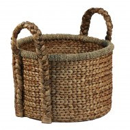 WWB-13013-Water-Hyacinth-Basket-with-Handle